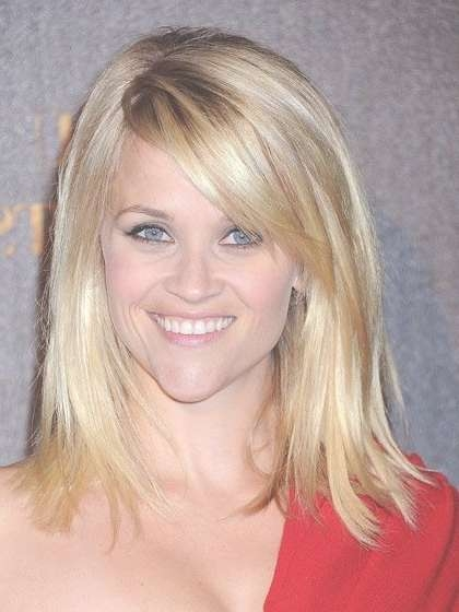 30 Best Below Shoulder Haircuts Images On Pinterest | Hair Cut With Most Recent Medium Haircuts With Swoop Bangs (View 2 of 25)