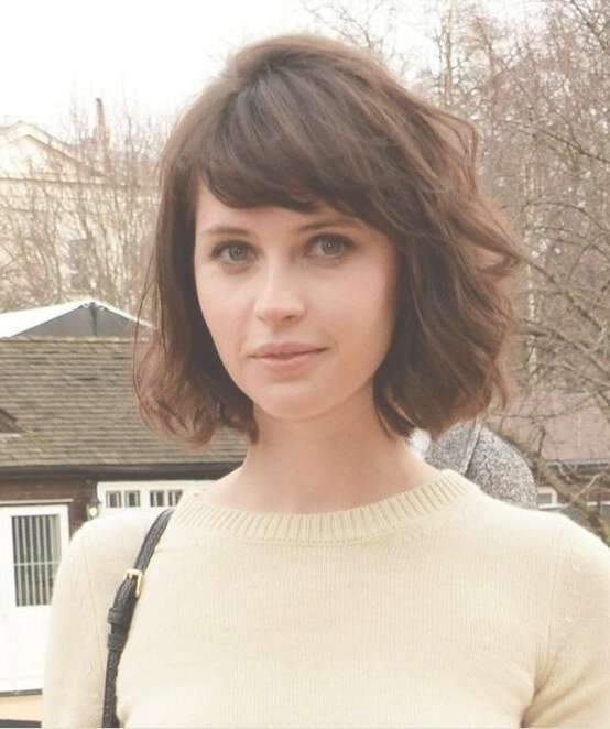 30 Chic Bob Hairstyles With Bangs – Hairstyles Weekly Pertaining To Bob Hairstyles With Bangs (View 20 of 25)