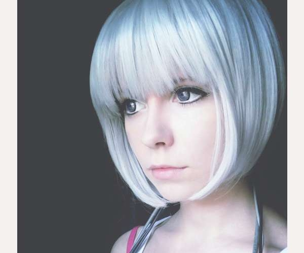 30 Drool Worthy Bob Hairstyles With Bangs – Slodive Intended For Unique Bob Haircuts (View 21 of 25)