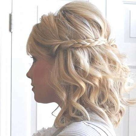 30 Gorgeous Braided Half Up Half Down Hairstyles | Hairstyles Regarding Half Up Half Down Bob Haircuts (View 9 of 25)