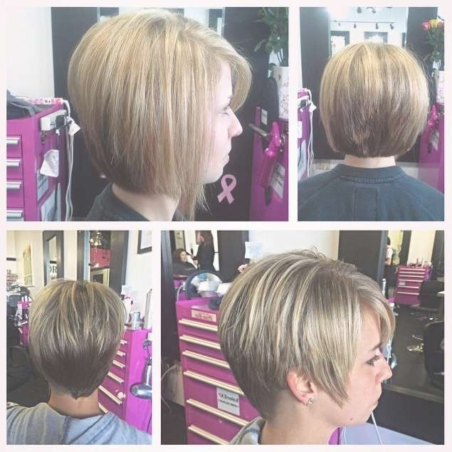 30 Latest Chic Bob Hairstyles For 2018 – Pretty Designs Inside Updos For Bob Haircuts (View 12 of 25)