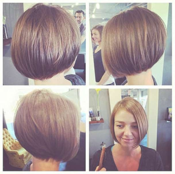 30 Latest Chic Bob Hairstyles For 2018 – Pretty Designs Regarding Full Bob Haircuts (View 5 of 25)