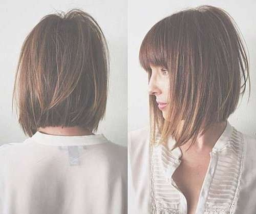 30 Layered Bob Haircuts For Weightless Textured Styles Regarding Bob Haircuts With Layers (View 20 of 25)