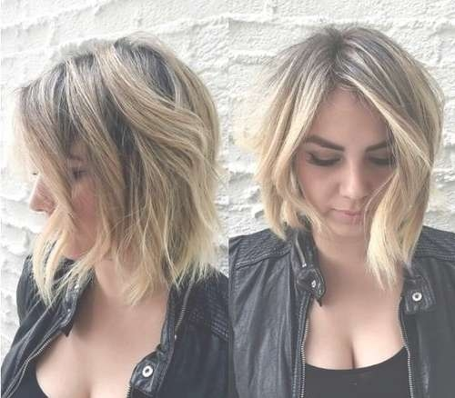 30 Must Try Medium Bob Hairstyles – Popular Haircuts For Most Popular Asymmetrical Medium Hairstyles (View 8 of 25)