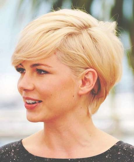 30 New Short Hairstyles For Round Faces – Hairstyle For Women With Regard To Most Popular Cropped Medium Hairstyles (View 3 of 15)