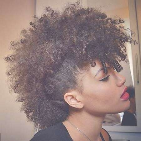 Featured Photo of Mohawk Medium Hairstyles For Black Women