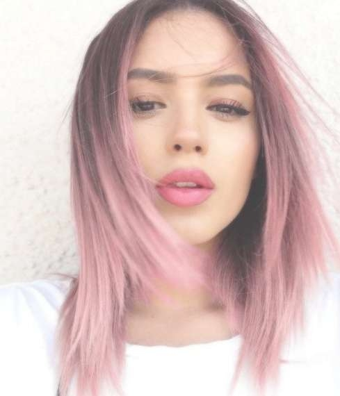 30 Pink Hairstyles Ideas For This Season For Most Recently Pink Medium Haircuts (View 8 of 25)