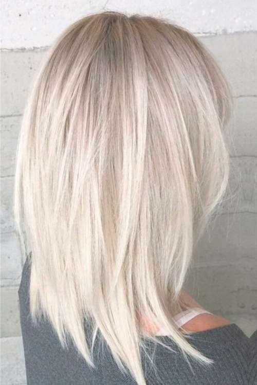 30 Stunning Medium Layered Haircuts (Updated For 2018) Throughout 2018 Layered Medium Haircuts (View 3 of 25)