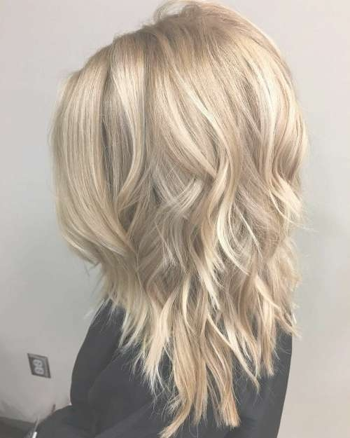 30 Stunning Medium Layered Haircuts (Updated For 2018) With Regard To Newest Layered Medium Haircuts (View 2 of 25)