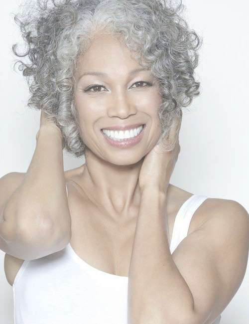 30 Stylish Gray Hair Styles For Short And Long Hair Throughout Current Medium Haircuts For Coarse Gray Hair (View 25 of 25)