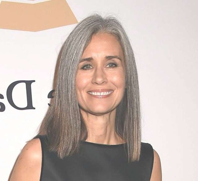 30 Stylish Gray Hair Styles For Short And Long Hair With Regard To Latest Medium Haircuts For Coarse Gray Hair (View 18 of 25)
