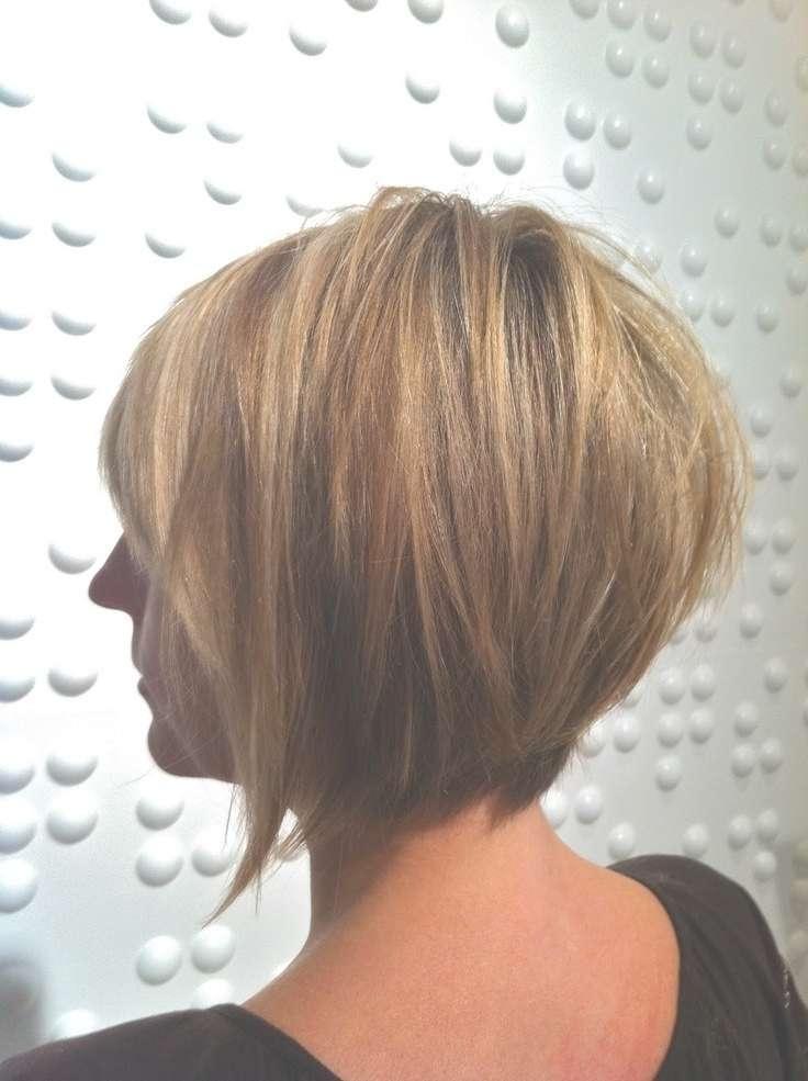 30 Super Hot Stacked Bob Haircuts: Short Hairstyles For Women 2018 For Short Layered Bob Hairstyles (View 23 of 25)