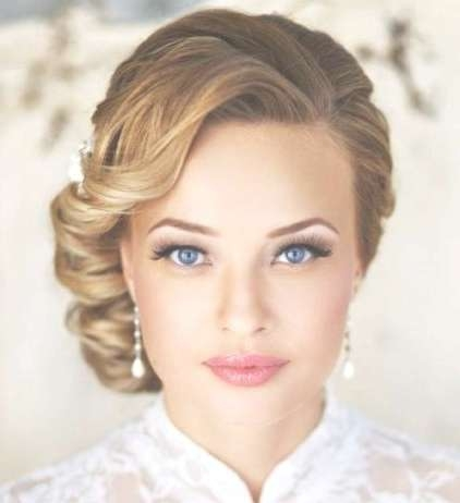 30 Wedding Hairstyles For Medium Hair Intended For Newest Wedding Medium Hairstyles (View 5 of 25)