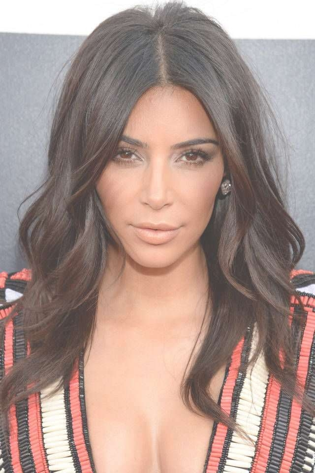 301 Best Hair Styles Images On Pinterest   Hair Color, Hair Colors Regarding Most Up To Date Kim Kardashian Medium Haircuts (View 9 of 25)