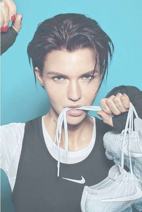 306 Best Ruby Rose Images On Pinterest | Ruby Rose, Girl Crushes Regarding Recent Ruby Rose Medium Hairstyles (View 2 of 15)