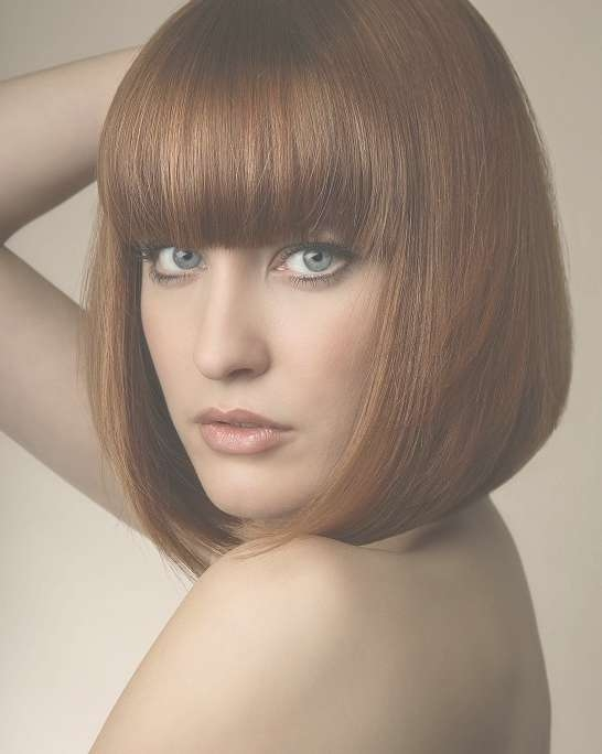 31 Awesome Bob Hairstyles With Bangs In Bob Hairstyles With Bangs (View 6 of 25)