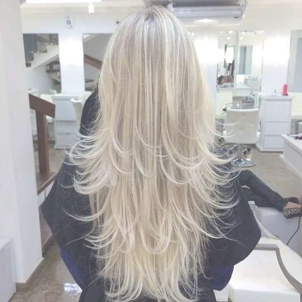 31 Beautiful Long Layered Haircuts | Stayglam Regarding Recent Long Haircut With Layers (View 16 of 25)