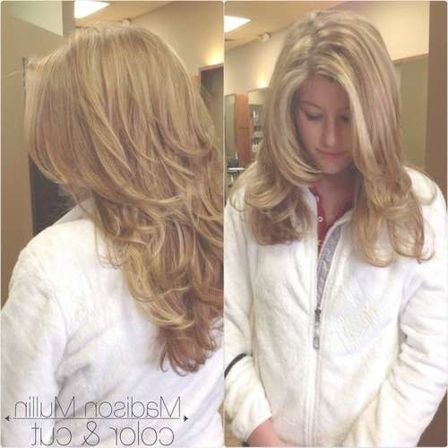 31 Best My Work Images On Pinterest | Hair Stylists, Hairdressers Throughout Recent Medium Haircuts With Lots Of Layers (View 6 of 25)