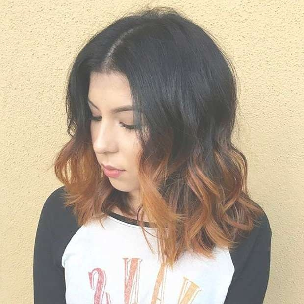 31 Best Shoulder Length Bob Hairstyles | Stayglam Pertaining To Shoulder Bob Haircuts (View 23 of 25)