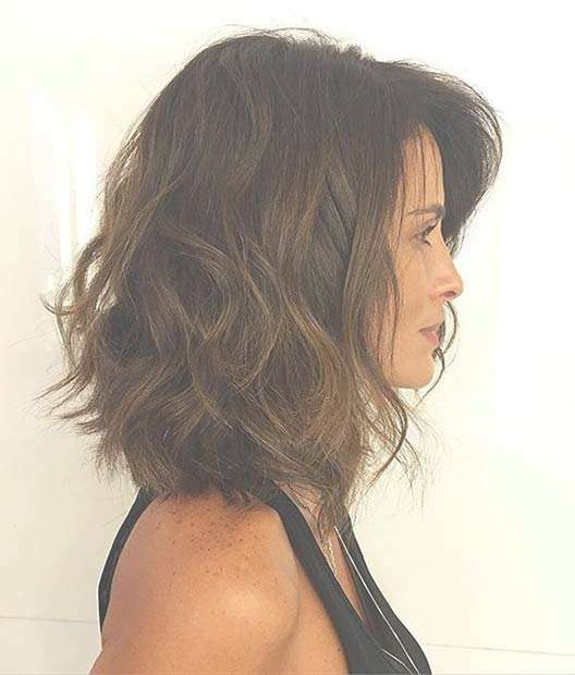 31 Best Shoulder Length Bob Hairstyles | Stayglam With Regard To Shoulder Bob Haircuts (View 11 of 25)