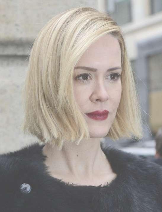31 Celebrity Hairstyles For Short Hair – Popular Haircuts With Celebrity Short Bobs Haircuts (View 8 of 25)
