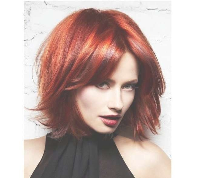 32 Best Fryzury Images On Pinterest | Hair Cut, Hair Ideas And Hairdos For Most Recently Medium Hairstyles For Red Hair (View 12 of 25)