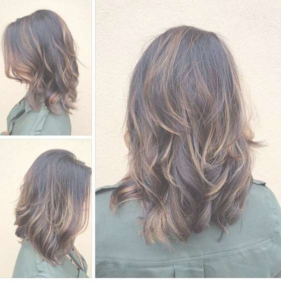 33 Alluring Medium Length Hair Cuts With Layers – I Am Bored With Best And Newest Medium Haircuts With Layers (View 8 of 25)