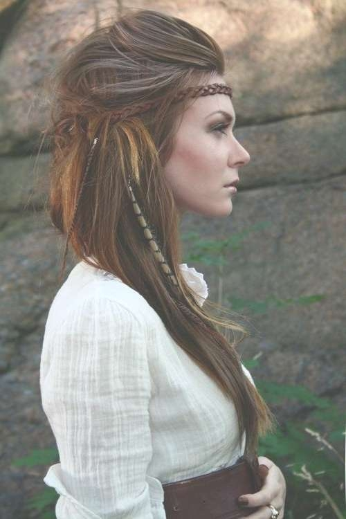 34 Boho Hairstyles Ideas | Styles Weekly Throughout Latest Bohemian Medium Hairstyles (View 3 of 15)