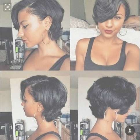 341 Best Jazz Hairstyles Images On Pinterest | African Hairstyles With Most Recently Medium Haircuts For Relaxed Hair (View 3 of 25)