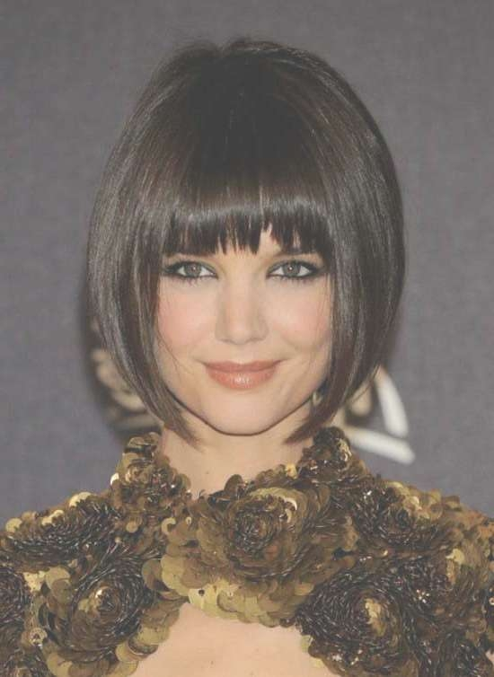 35 Awesome Bob Haircuts With Bangs – Makes You Truly Stylish Intended For Short Bob Hairstyles With Bangs (View 7 of 25)
