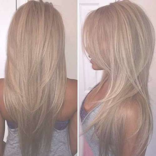 35+ Best Long Layered Hairstyles | Long Hairstyles 2017 & Long Pertaining To Most Recent Long Haircut With Layers (View 20 of 25)
