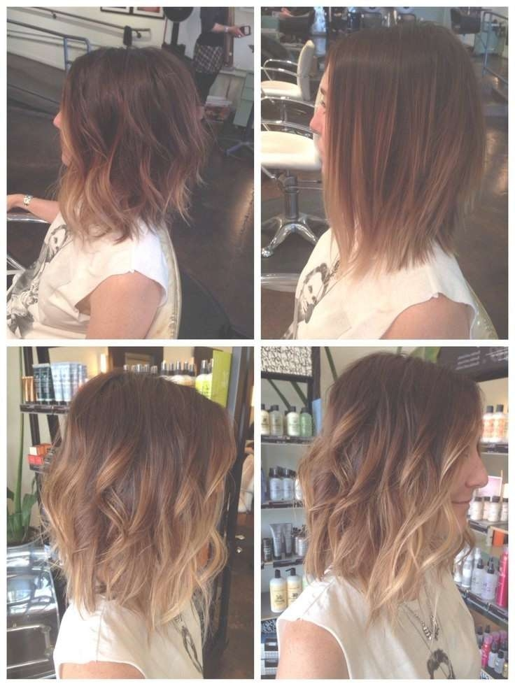 35 Best Medium Length Hairstyles For 2018 – Easy Shoulder Length With Most Current Ombre Medium Hairstyles (View 25 of 25)