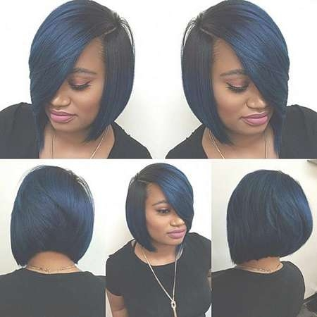 35 Best Short Hairstyles For Black Women 2017 | Short Hairstyles Inside Black Bob Haircuts (View 2 of 25)