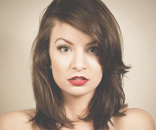 35 Exciting Edgy Haircuts – Slodive With Regard To Most Popular Edgy Medium Haircuts For Round Faces (View 7 of 25)