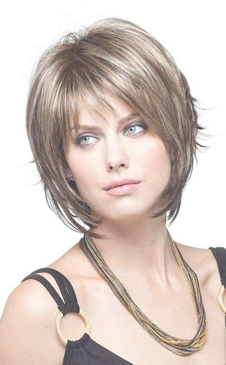 35 Layered Bob Hairstyles   Short Hairstyles 2016 – 2017   Most Within Short Bob Hairstyles With Fringe (View 3 of 25)