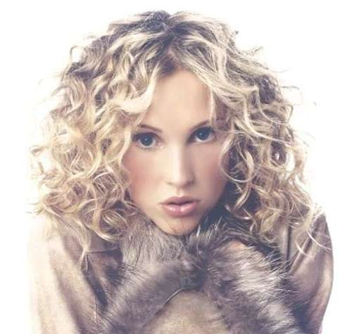 35 Medium Length Curly Hair Styles | Hairstyles & Haircuts 2016 – 2017 Pertaining To Most Recently Medium Haircuts For Thick Curly Hair (View 6 of 25)
