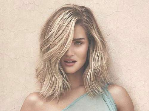 35+ New Medium Long Hair Styles | Hairstyles & Haircuts 2016 – 2017 With Most Recent Medium Hairstyles (View 13 of 25)