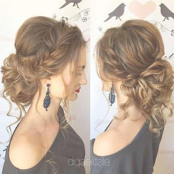 Photos of updo medium hairstyles showing 8 of 15 photos 35 romantic wedding updos for medium hair wedding hairstyles regarding current updo medium hairstyles junglespirit Images