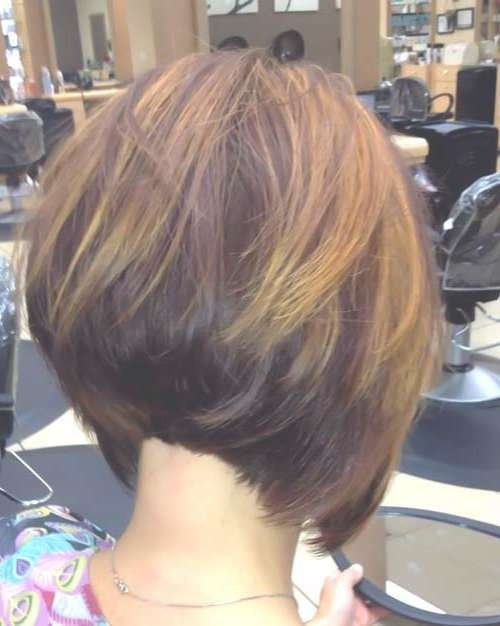 35 Short Stacked Bob Hairstyles | Short Hairstyles 2016 – 2017 In Line Bob Haircuts (View 14 of 25)