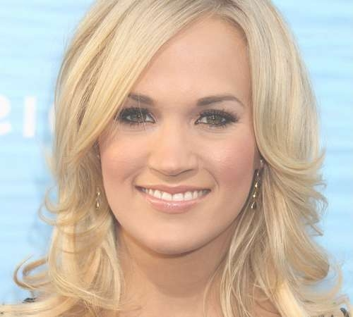 35 Super Sexy Carrie Underwood Hairstyles   Creativefan Pertaining To Newest Carrie Underwood Medium Hairstyles (View 22 of 25)