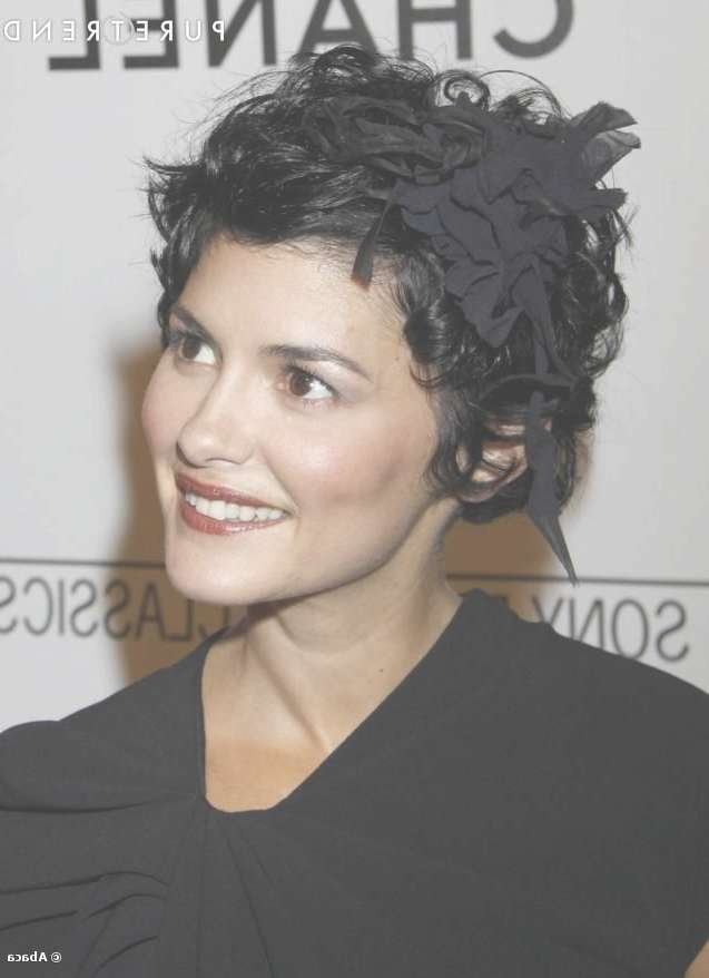 353 Best Audrey Tautou Images On Pinterest | Audrey Tautou, Hair Regarding Most Recently Audrey Tautou Medium Haircuts (View 23 of 25)