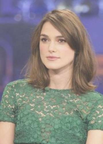36 Shoulder Length Hairstyles (All Hair Types) Page 1 Of 4 Intended For Most Popular Keira Knightley Medium Haircuts (View 19 of 25)