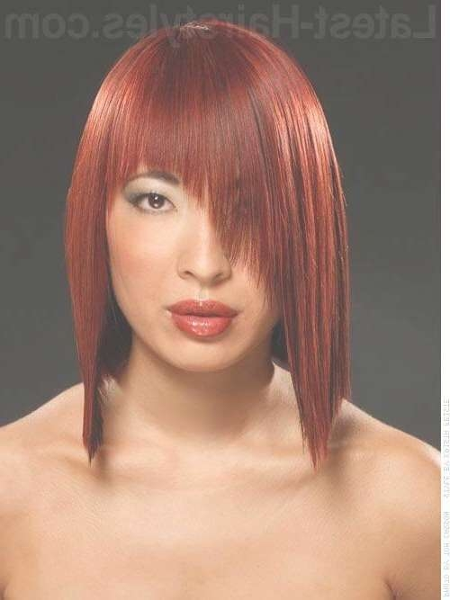 38 Bob With Bangs Hairstyle Ideas Trending For 2018 Inside Bob Haircuts Without Fringe (View 8 of 25)