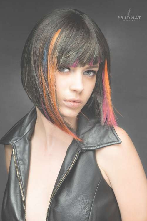 38 Bob With Bangs Hairstyle Ideas Trending For 2018 Regarding Bob Hairstyles With Bangs (View 19 of 25)