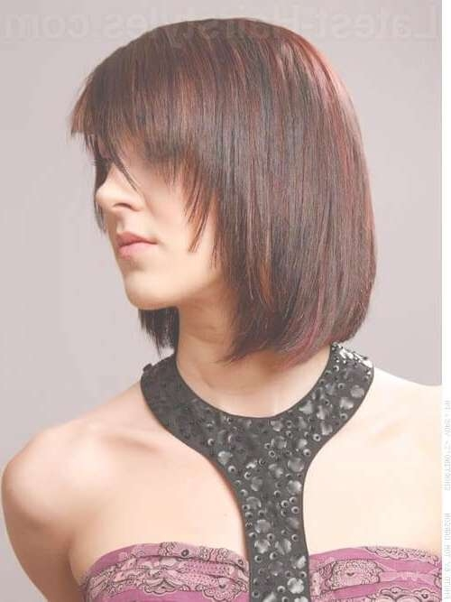 38 Chic Medium Shag Hairstyles & Haircuts For Women 2018 Pertaining To Recent Medium Hairstyles With A Fringe (View 24 of 25)