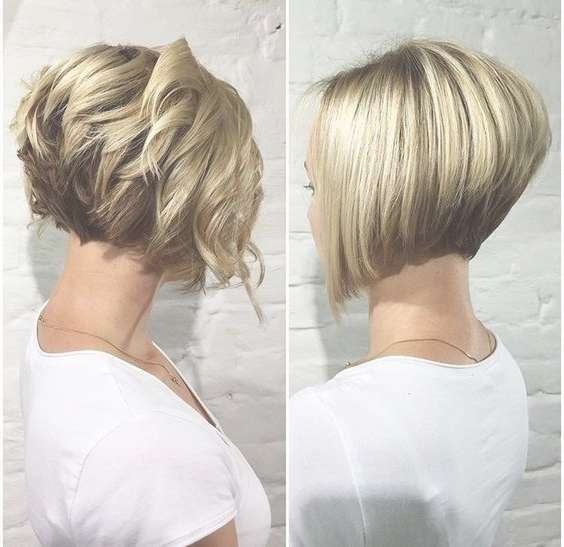 38 Super Cute Ways To Curl Your Bob – Popular Haircuts For Women 2017 Within Short Bob Haircuts For Women (View 22 of 25)
