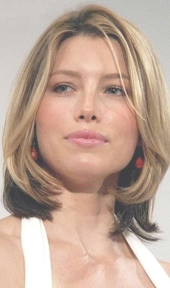4 Choppy Medium Hairstyles For Different Face Shapes Regarding Most Up To Date Long Face Medium Hairstyles (View 2 of 25)