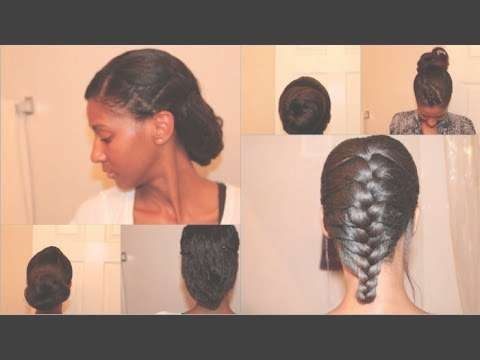 4 Easy Protective Styles For Relaxed/texlaxed/transitioning Hair Pertaining To Newest Medium Haircuts For Transitioning Hair (View 3 of 25)