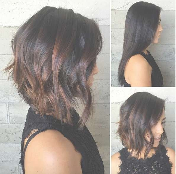 40 Amazing Choppy Bob Hairstyles For Short & Medium Hair 2018 Within Fall Bob Hairstyles (View 12 of 25)
