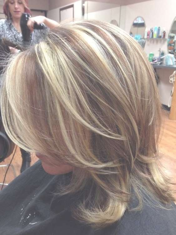 View Gallery of Medium Hairstyles With Layers For Fine Hair (Showing ...